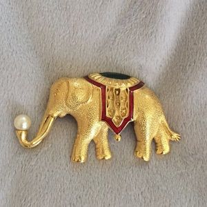 Elephant Brooch/Pin